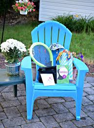 summer gift basket summer adirondack chair gift basket idea