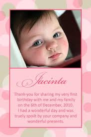 baptism thank you wording thank you photo cards for baby birth baptism birthday with pale