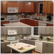 before and after oak cabinets painted white tags fabulous