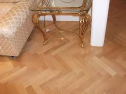 istoria solid oak parquet laid in a herringbone pattern with