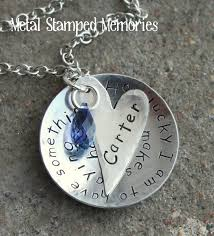 Baby Remembrance Jewelry Memorial Necklaces And Remembrance Keepakes Metal Stamped Memories