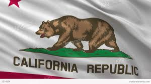 Califirnia Flag Us State Flag Of California Seamless Loop Stock Animation 3514854
