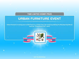 urban furniture event the sims freeplay