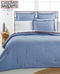 charter club damask stripe 500 tc full queen duvet cover cotton lake blue b2047