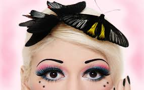 this particular type of anti eyebrow is called butterfly kisses