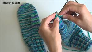 how to knit mittens tutorial with detailed
