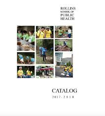 rollins of public health 2017 2018 rsph catalog