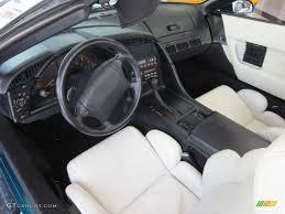 1992 corvette interior 1992 bright aqua metallic chevrolet corvette convertible 53671842