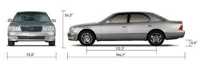 1997 lexus ls400 lexus ls400 history