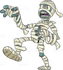 cartoon halloween mummy stock vector art 93230695 istock
