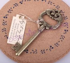 key bottle opener wedding favors 2015 new 100pcs antique vintage key to my heart bottle