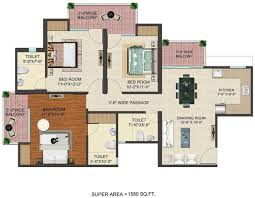 Last Man Standing House Floor Plan Jm Florence In Techzone 4 Noida Price Location Map Floor Plan