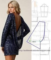 detalhes de modelação de vestidos e saia com transformação