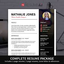 resume templates modern resume template for word theme