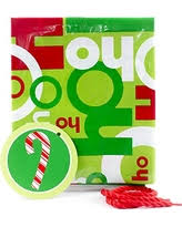 savings plastic gift bag