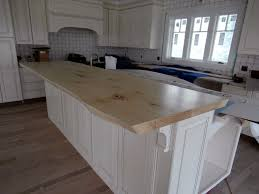 Slab Wood Bar Top Live Edge Wood Countertops Brooks Custom