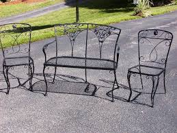 furniture black wrought iron outdoor furniture with wrought iron magnificent ideas to fix wrought iron patio furniture u2014 all home