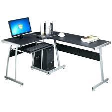 l shaped desk gaming setup l shaped gaming desk l shaped desk gaming setup z line belaire glass
