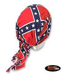 Rebel Flag Gear Medium Stars Confederate Flag Do Rag Motorcycle Rally Usa