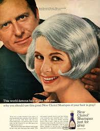 1965 beauty ad clairol shampoo for gray hair pretty woma u2026 flickr