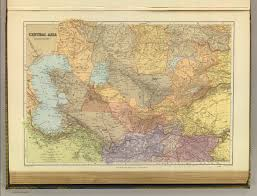 Southwest And Central Asia Map by Central Asia David Rumsey Historical Map Collection