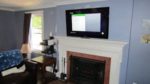 television over fireplace home decor how to mount a tv over a fireplace home design great