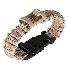 buckle survival bracelet images Gonex 550 paracord premium paracord bracelet with fire starter jpg