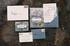 mountain wedding invitations vintage in the mountains bridechilla winner weekend edition