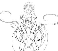 spirited away coloring pages fablesfromthefriends com