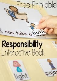 responsibility for preschoolers interactive book u0026 game