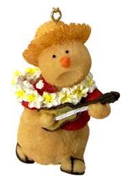 sandman w ukulele ornament