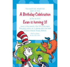 dr seuss birthday invitations custom dr seuss invitations thank you notes banners party city