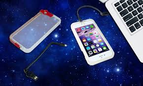 Light Up Iphone Charger Light Up Charger Case For Iphone Groupon Goods