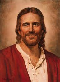 jesus christ painted by del parsons i love this you don t see