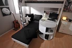 High Sleeper Bed With Desk And Sofa Casa 4 High Sleeper Bed