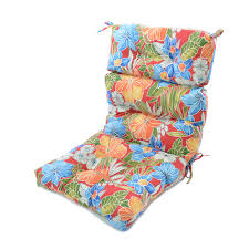 Patio Pads Exterior The Cozy High Back Patio Chair Cushions Designescent
