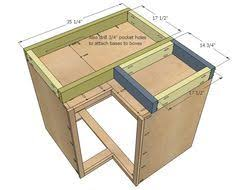 how to build frameless wall cabinets for the wall near the