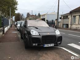 porsche cayenne matte black porsche cayenne techart magnum 2003 12 october 2016 autogespot