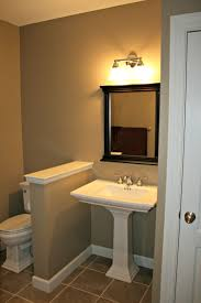 Small Basement Bathroom Ideas by 85 Best Basement Bathroom Images On Pinterest Home Bathroom