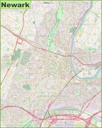 Newark Ohio Map by Large Detailed Map Of Newark