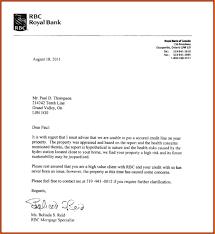 letter loan denial letter template