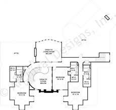 Attic Floor Plans by Mayerilla European House Plans Luxury House Plan