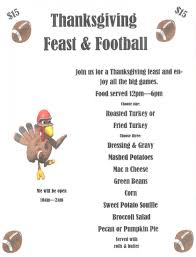 thanksgiving day feast football events fallbrook chamber of