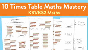 free maths mastery worksheets for teaching ks1 2 times tables