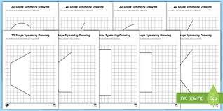 shape symmetry drawing activity