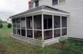 Screen Porch Designs For Houses Adding A Screened Porch To House