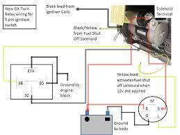 no key switch honda relay twin
