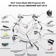 aliexpress com buy kt headlight fits for honda cbr600rr 2007