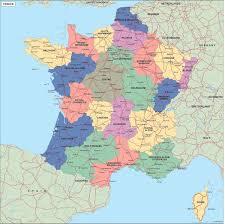 Alsace France Map by France Political Map Illustrator Vector Eps Maps Eps Illustrator