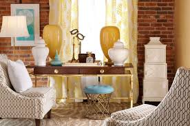 lilly pulitzer furniture best help for cheerful interior design unique vintage room by lilly pulitzer with adorable funiture and wing chairs and wooden table and